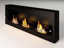 Fire Line Glass black (+стекло)